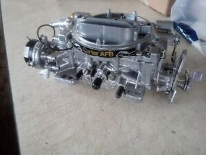 Afb Carter Ford Rebuilt 625 Cfm Carburetor 9637s With Electric Choke