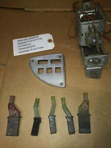 1960 Amc Rambler Push Button Automatic Transmission Assembly With Buttons