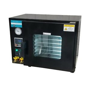 0 9 Cu Ft Vacuum Oven With 7 Shelves Extractor Solutions