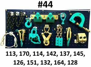12 Heavy Duty Auto Body Frame Machine Pulling Tools And Clamps Set Mega Pack