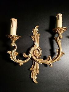French Wall Sconce Pair