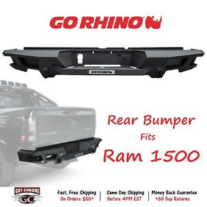 Go Rhino 28128t Rear Bumper Replacement For Dodge Ram 1500 2009 2017
