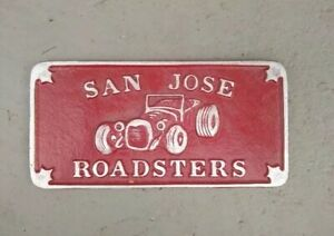 Car Club Plaque Long Beach Nhra Scta Hot Rod Parts Edelbrock Holley Ef