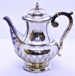 Vintage K Uyeda Japanese 950 Solid Sterling Silver Lidded Tea Pot No Mono