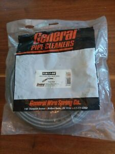 General Drain Cleaning Cable 5 16 In X 25 Ft General Pipe Cleaners