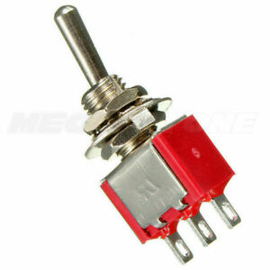 Spdt Momentary Mini Toggle Switch On off on Solder Lug Usa Seller