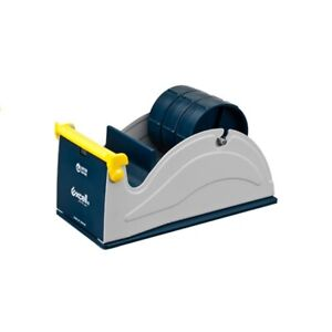 Commercial Heavy Duty 3 Stationery Desk Top Tape Dispenser Multi Roll
