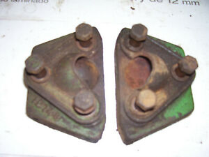 Vintage Oliver 55 Gas Tractor front Axle Brace Sockets 1955