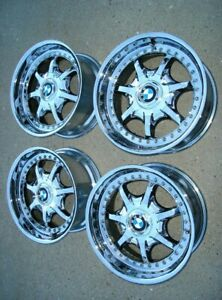 Bmw E28 E34 535i M5 E24 M3 Oem E39 540i Bbs Chrome 17x8 Style 19 Wheels Rims