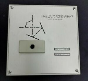 Hp Hewlett Packard Agilent 10777a Optical Square Squareness Excellent