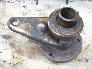 Vintage Ji Case Vac 14 Tractor throw Out Bearing Mount Assembly Vt 7