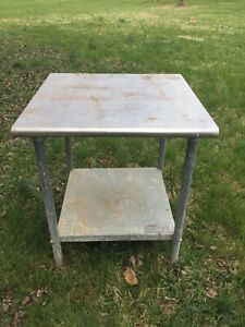 Eagle Group Stainless Steel Work Top 30 X 30 Table