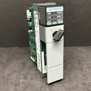 Allen Bradley 1747 l551 B 1747 os501 C Upgrade Frn 11 Slc 500 5 05 Cpu Processor