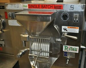 Electro Freeze Water Ice Batch Machine