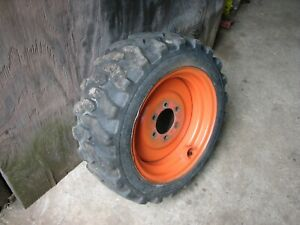 Kubota Compact Tractor B21 And Others Front Tire And Wheel