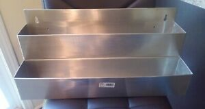 Winco Spr 22d 22 inch Double Speed Rail Stainless Steel