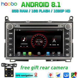 Android 8 1 Car Dash Video Gps Stereo Radio Dash Bt For Toyota Venza 2008 2015