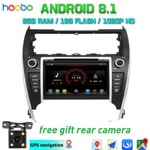 Android 8 1 Car Dash Video Gps Stereo Radio Bt For Toyota Camry 2012 Eur Version