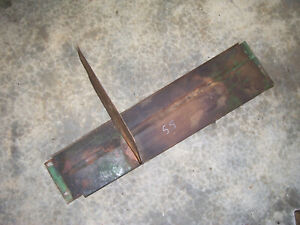 Vintage Oliver 55 Gas Tractor exhaust Shield Panels 1955
