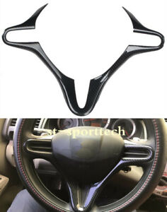 Fit For 06 11 Honda Civic Fd2 Carbon Fiber Style Inner Steering Wheel Cover Trim