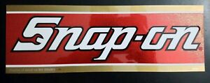 Vintage Snap On Snap On Tools Tool Box Cabinet Sticker Emblem Decal Shop Garage