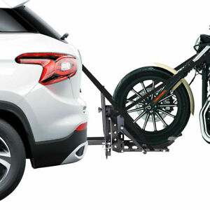 800lb Motorcycle Scooter Carrier 2 Tow Receiver Trailer Hauler Hitch Mount Rack