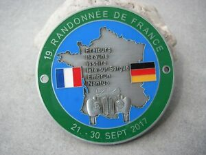 German Bmw 327 Randonne De France Rallye 2017 Bmw Veteranen Club Car Badge