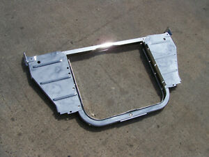 1956 Chevy 6 Cylinder Chrome Radiator Core Support Assembly