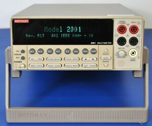 Keithley 2001 7 5 Digit Multimeter Nist Calibrated And Warranty