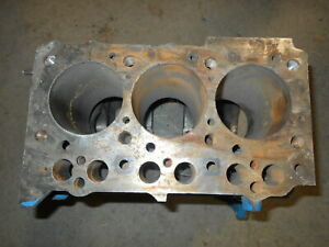 Ford New Holland 1710 Bare Engine Block 3 Cylinder H843 1396cc N852