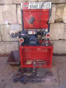 Ammco 4000b Brake Lathe Disc Drum 6950 Twin Facing Cutter And Many Extras Wow