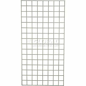 Wire Grid Panel 48 X 48 Poly green 1 Each