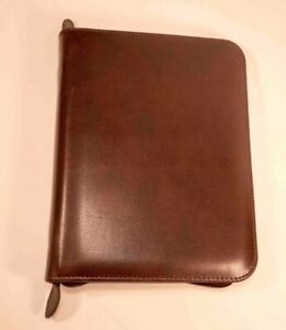Daytimer Classic Zip Planner Binder Fits Franklin Covey And Day Runner