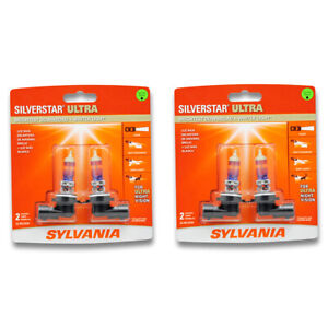 Sylvania Silverstar Ultra Two 2 Packs 9006su Light Bulb Fog Daytime Sl