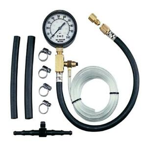 Fuel Injection Pressure Tester 16 In Gauge Hose Automotive Shop Equipment New