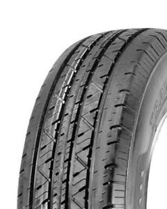 2 New Travelstar Hf188 St205 75r15 Load D 8 Ply Trailer Tires