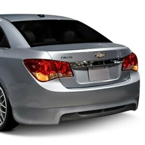 For Chevy Cruze 11 15 Rs Style Rear Bumper Lip Under Spoiler Air Dam Unpainted