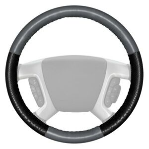 For Nissan Armada 18 20 Steering Wheel Cover Europerf Perforated Gray Steering