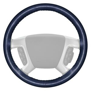 For Ford F 150 17 18 Wheelskins Original One color Blue Steering Wheel Cover