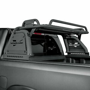 For Ram 1500 Classic 2019 Vanguard Off Road Raven Black Truck Bed Bar