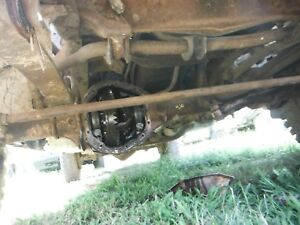 Gm Dana 44 Front Axle Assembly Jeep Swap Passenger Side Drop 3 73 Will Ship