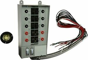 30 amp Indoor Transfer Switch Power Kit For Generators Up To 7 500 Running Watts