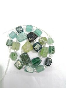 Ancient Roman Glass Beads Mixed Size Old Roman Glass Beads Antiques Roman