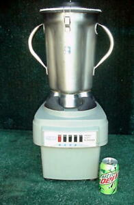 Waring Commercial Lab Blender 38bl52 Lbc10 4 Liter Capacity 3 Hp
