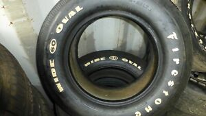 Firestone Tires Wide Oval F60 15 Set Of 4 Nos Boss 351 corvette pontiac mopar
