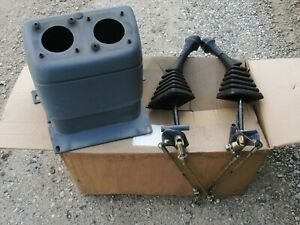 718390019 Ford New Holland 2 Lever Backhoe Control Kit