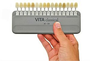 Vita Classical Shade Guide A1 D4 16 Shades Improved New Holder Made