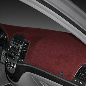 For Ford Galaxie 500 65 66 Dash Designs Poly carpet Maroon Dash Cover