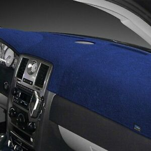 For Suzuki Samurai 86 88 Dash Designs Plush Velour Dark Blue Dash Cover