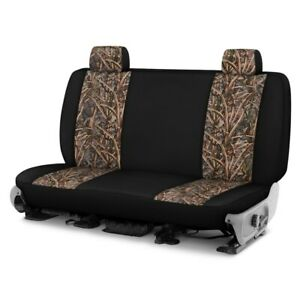 For Toyota Pickup 89 94 Camo 1st Row Migration Ll W Black Custom Seat Covers